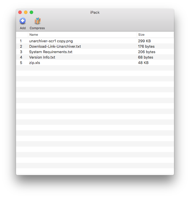 Cisdem BetterUnarchiver for Mac