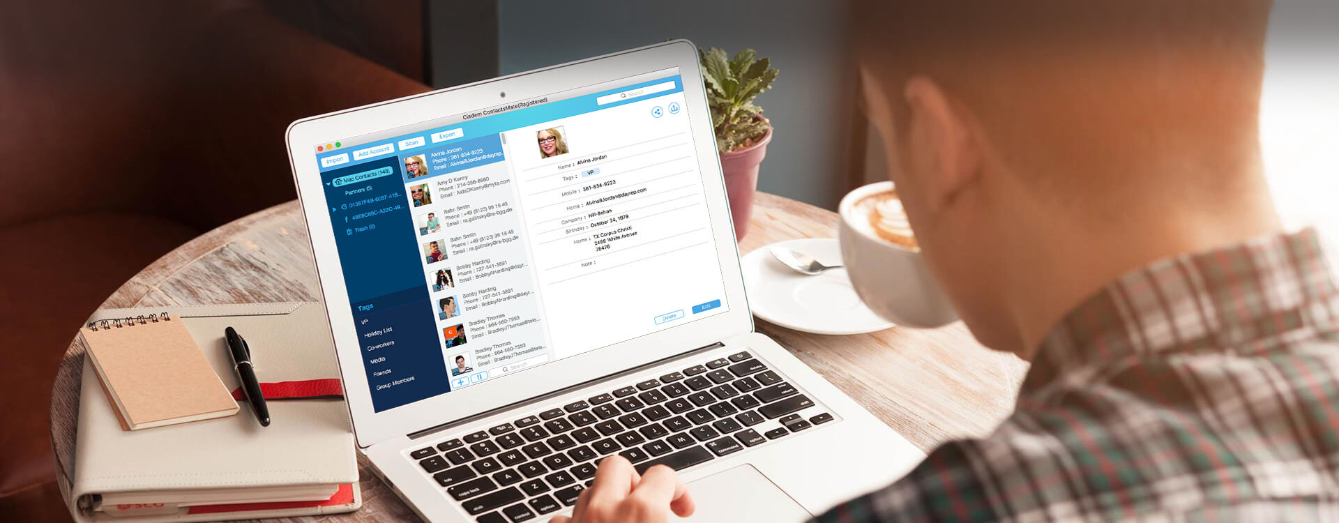Cisdem ContactsMate for Mac 4.2.0 破解版 – 联系人管理工具-爱情守望者