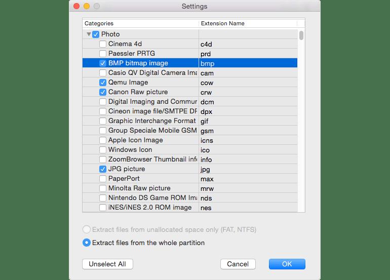 Cisdem Data Recovery Mac 破解版 恢复宝贵的丢失的数据-麦氪搜(iMacso.com)