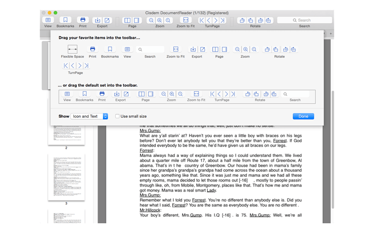 Cisdem Document Reader 4.0 Mac 破解版 简单高效全能的文件阅读器-爱情守望者