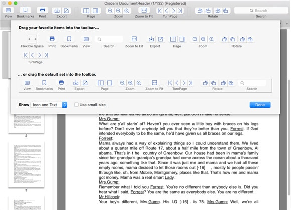 Official cisdem document reader for mac docpdfxpswinmailepub a tool to meet all your document reading needs malvernweather Choice Image