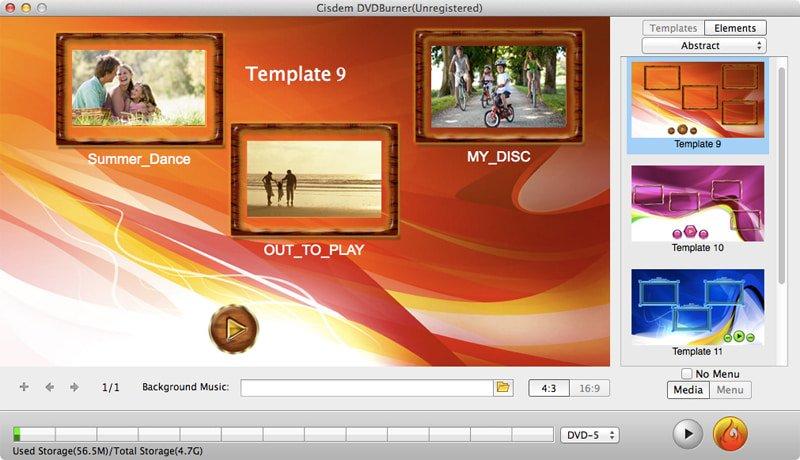 dvd menu editor