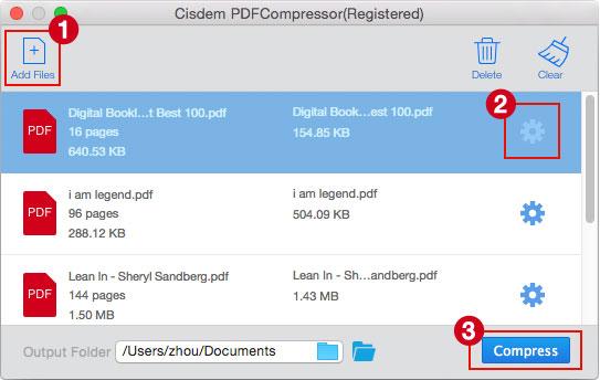 Cisdem PDF Compressor Mac 破解版 PDF文件压缩工具-麦氪派