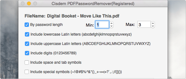 What to Do When Lost or Forgot the PDF Password on Mac? tips