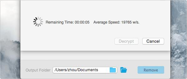 tweak the settings to crack pdf user password