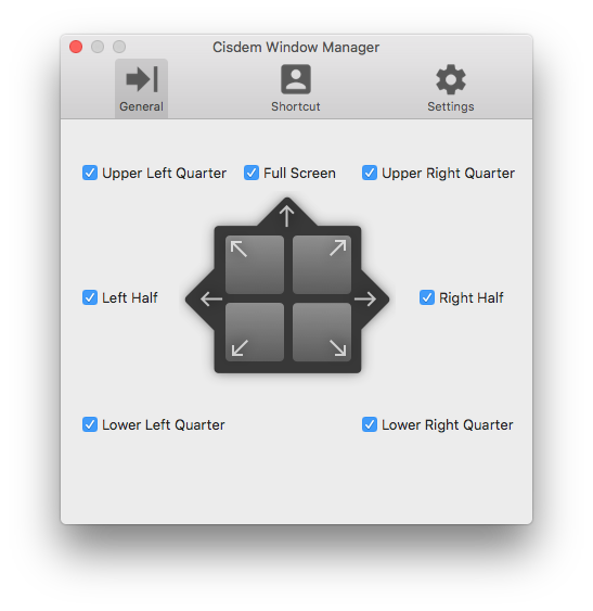 How to Do Split Screen on Mac Step 3 - ①