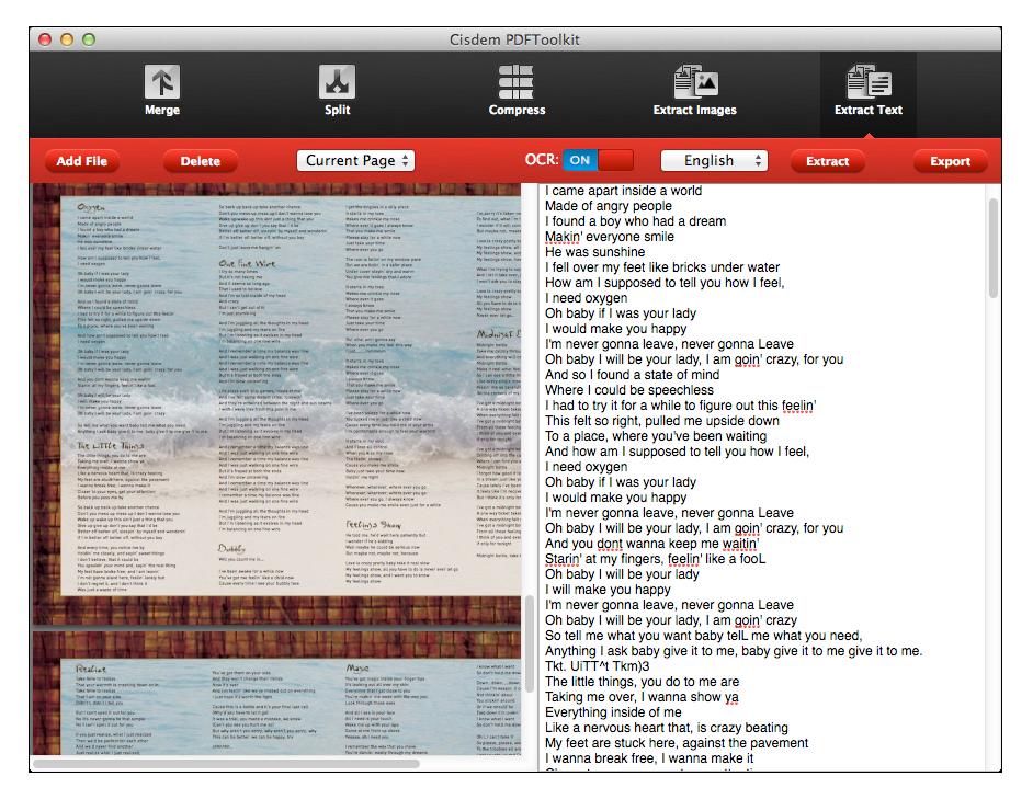 Cisdem PDFToolkit for Mac full screenshot