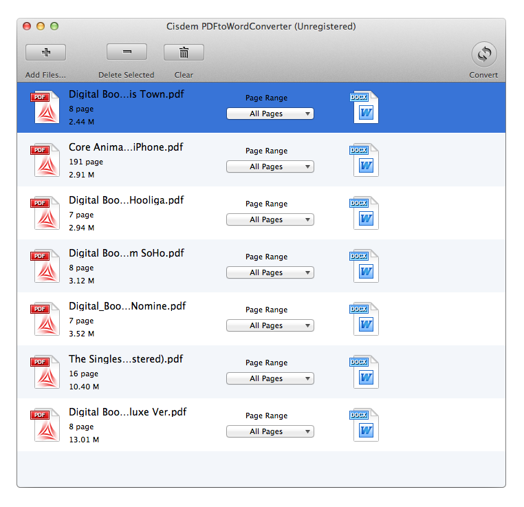 how to add pdf files together mac