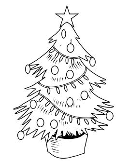 Christmas 2019: 40 Free Printable Christmas Tree Coloring ...