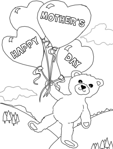 Best 30 Free Printable Mother S Day Coloring Pages 2018