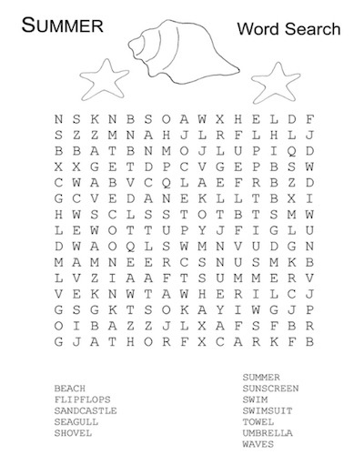 summer word search 08