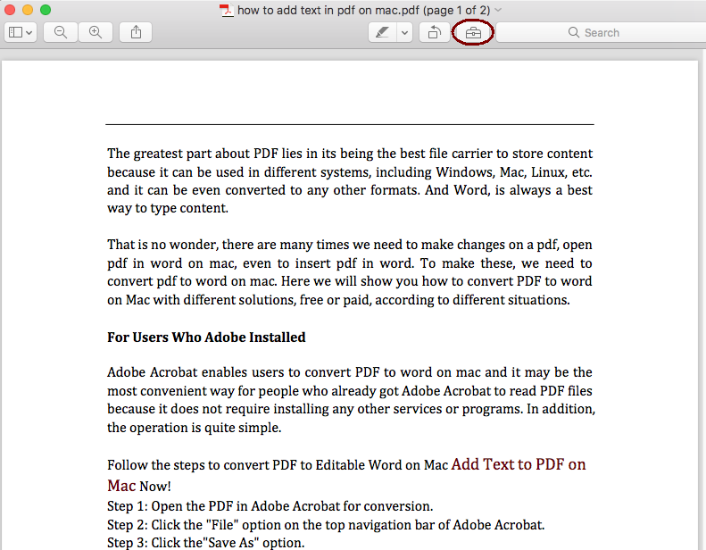 add page numbers to pdf on mac preview 01
