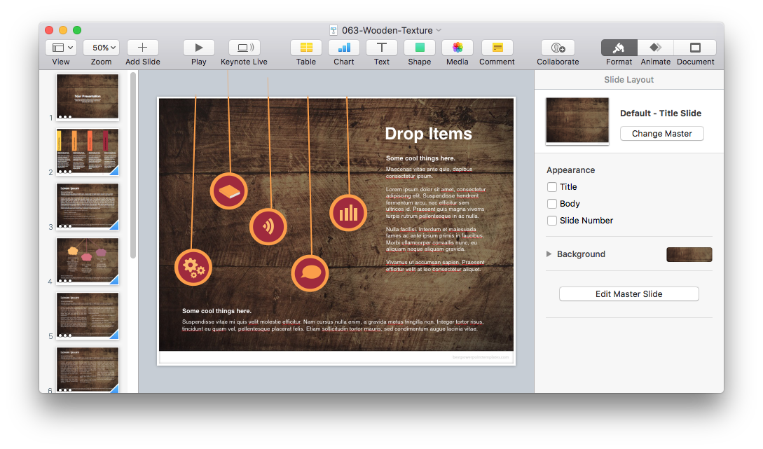Where to Download Creative and Free Keynote Templates?