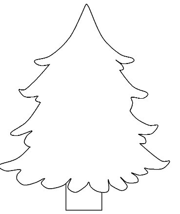 Christmas 2018 40 Free Printable Christmas Tree Coloring Pages Pdf