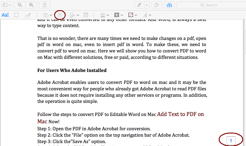 add page numbers to pdf on mac preview 02