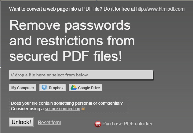 how to unlock a PDF on Mac with PDFUNLOCK--for pdf unlock