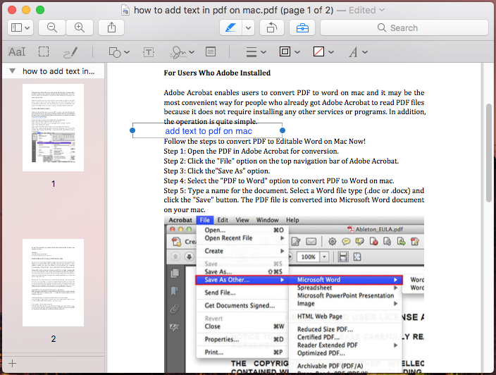 how to add text to pdf on mac with preview 03