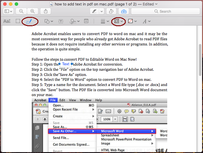 how to add text to pdf on mac with preview 04