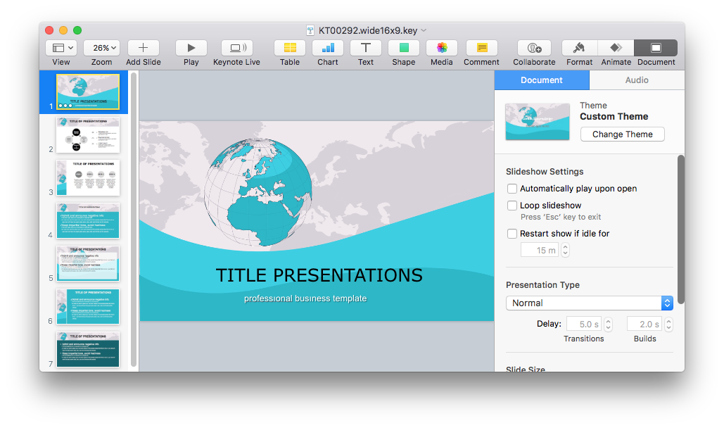 where to download creative and free keynote templates