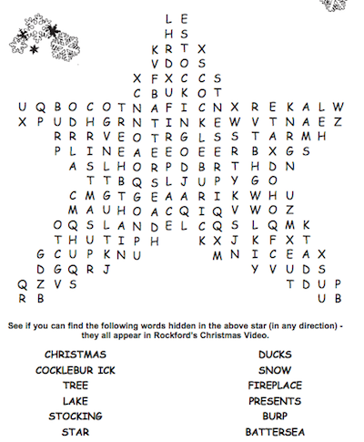photo about Printable Christmas Crossword Puzzles for Adults With Answers identify Greatest 15 Totally free Printable Xmas Term Look PDF for 2018