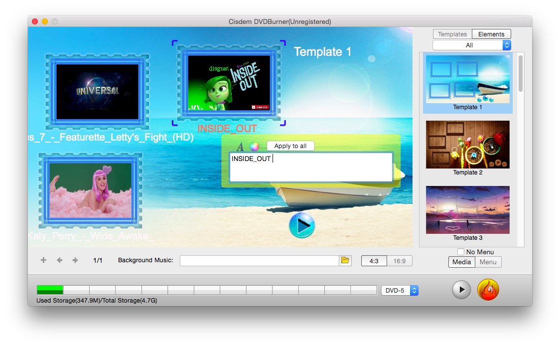 The Best iDVD Alternative Mac - Cisdem DVDBurner