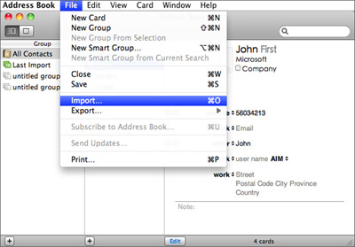 How to Transfer, Import, Sync Contacts from iPhone to Mac(El ...