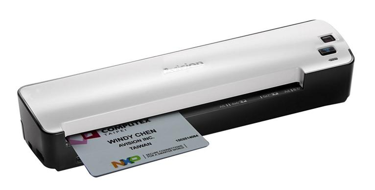 Avision IS25 Portable Scanner for Document and Photo