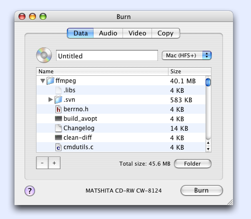 free software for burning dvd on mac