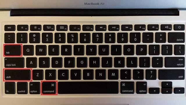 how to go between windows on a mac
