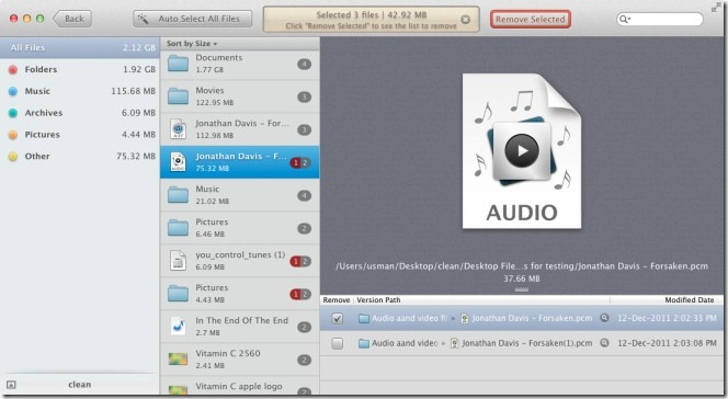 how to find and delete duplicate mp3 files