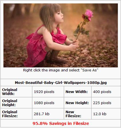 before and after comparison of JPEG-Optimizer