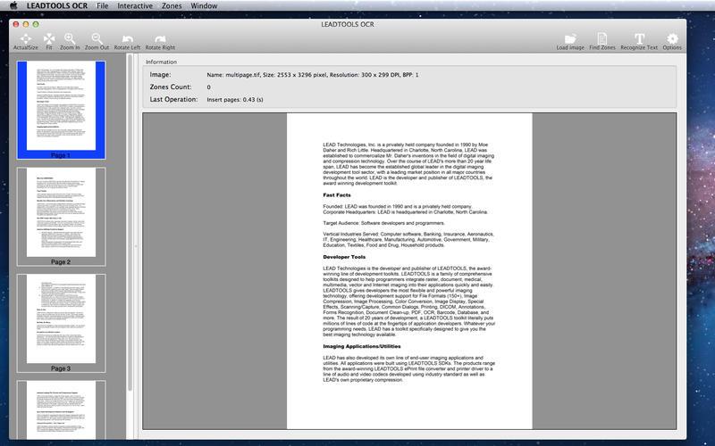 use leadtool ocr as free ocr tool
