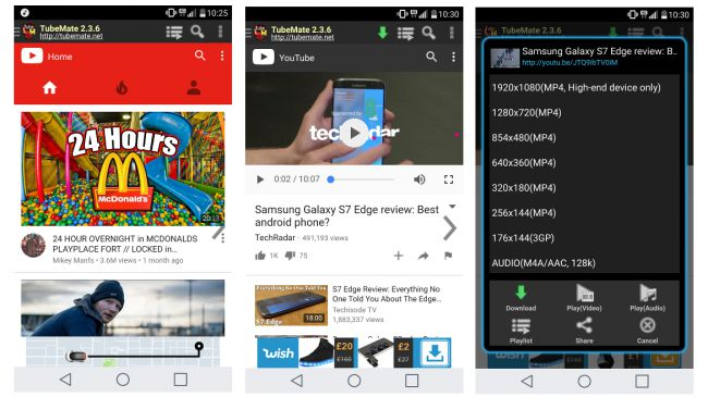 download video youtube no android