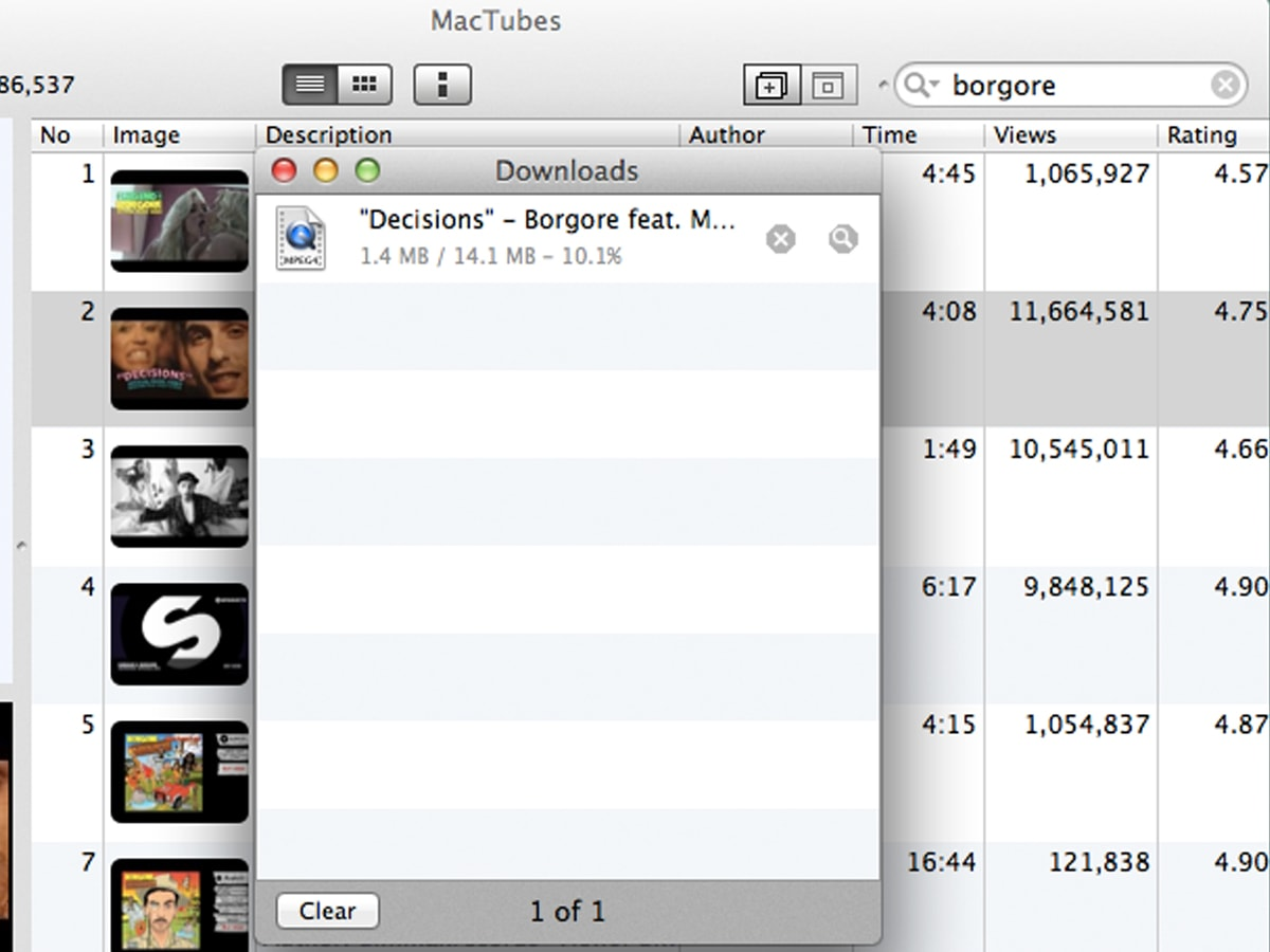 Best Free Video Downloader- MacTubes(for Mac)