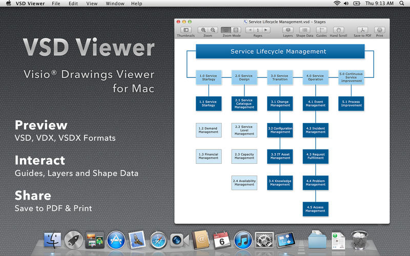 how to open vsd file on mac