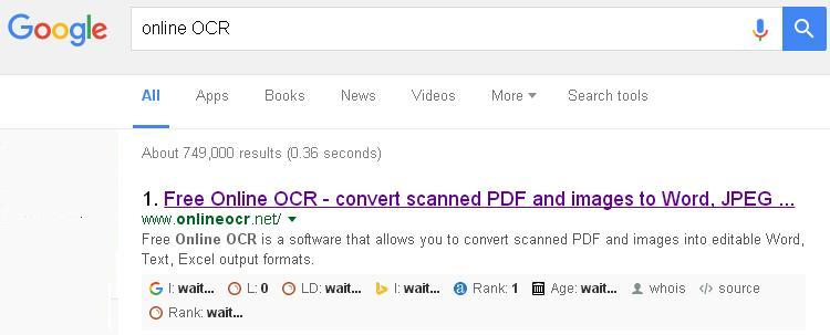 use online ocr tools to convert scanned files to pages mac