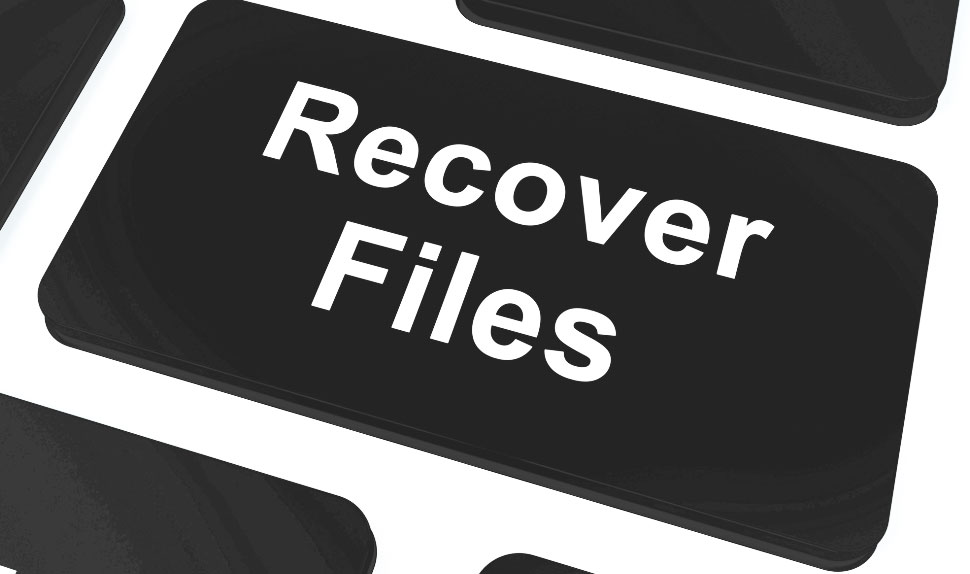 Restoring deleted files on hard drive
