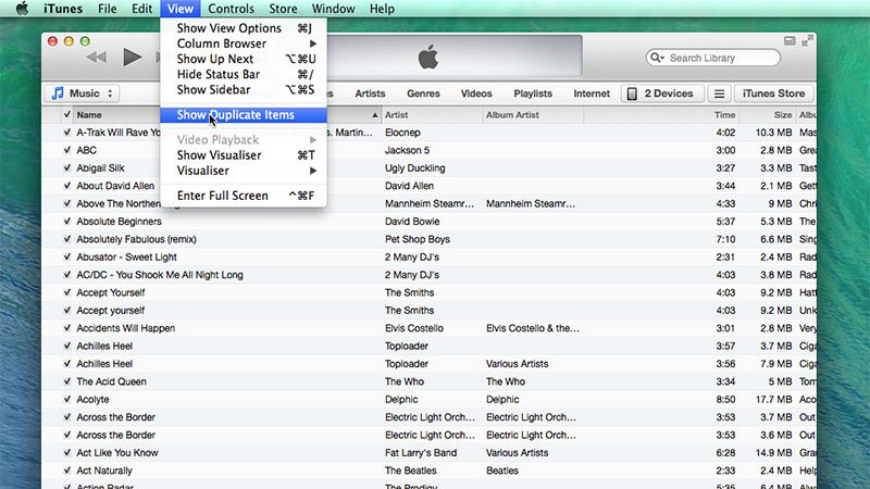 How to find and delete duplicate music files on mac