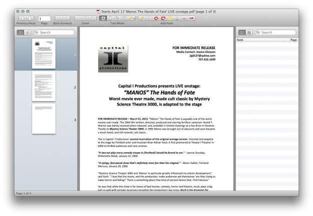 PDF Reader for Mac Four: Skim