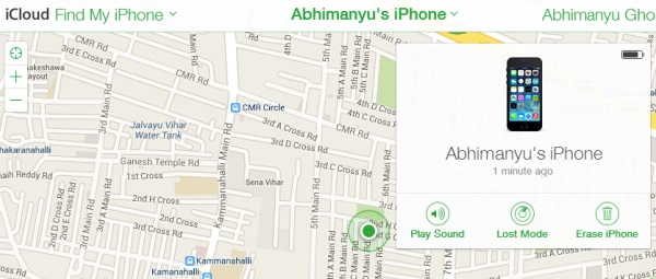 iphone find my phone feature