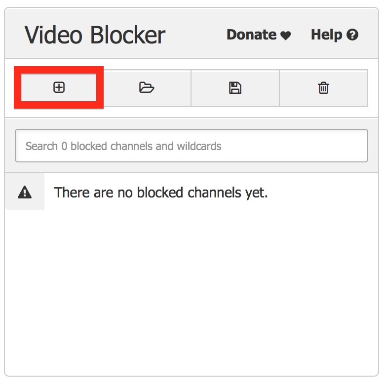 How to block YouTube channels Step 2