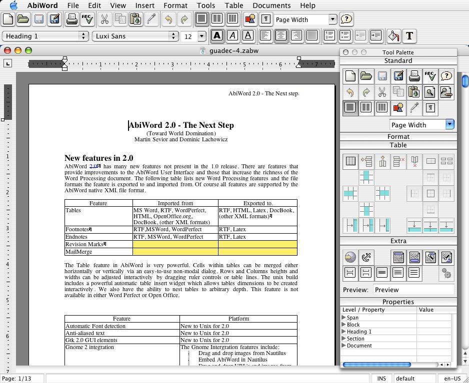 wordperfect reader for mac 02- abiword