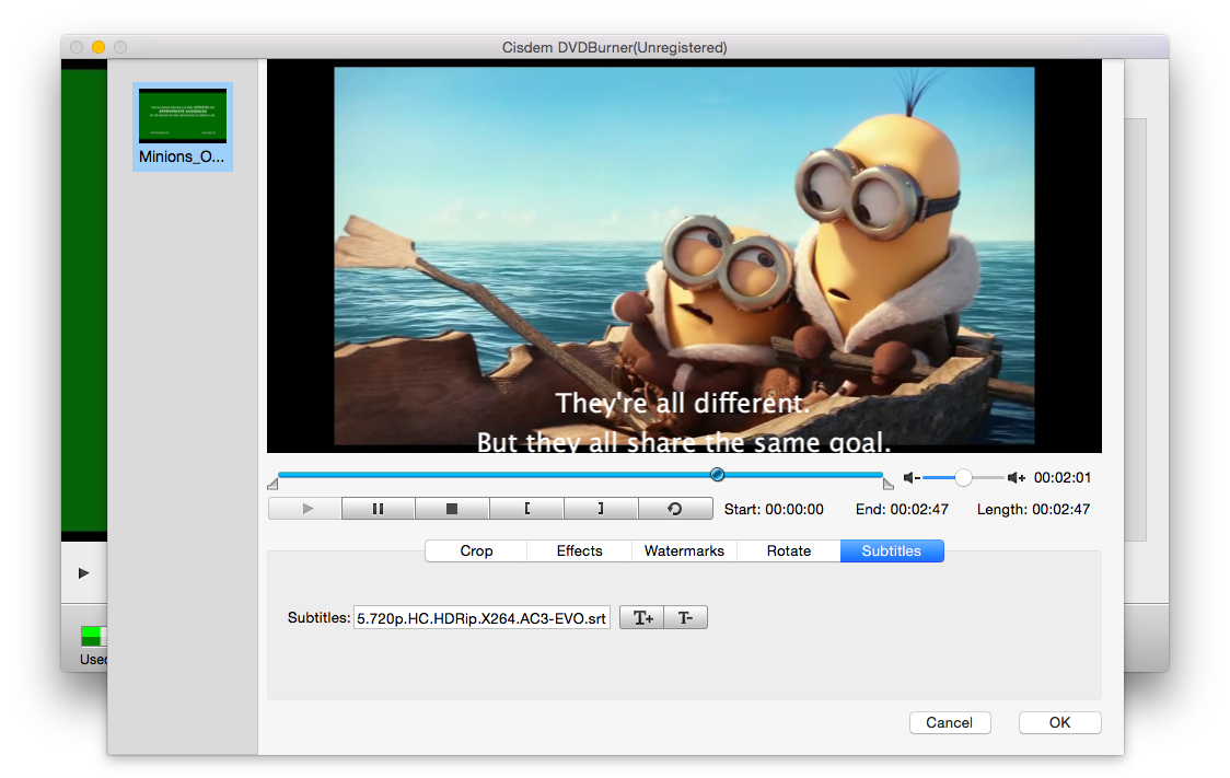 How to add subtitles to video before burning it to dvd tips you can click the to preview your video ccuart Image collections