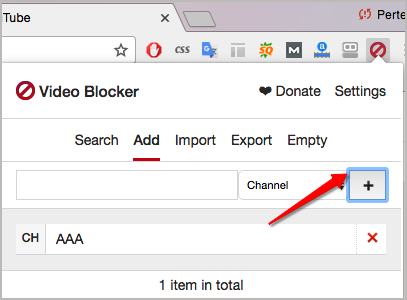 How to Block YouTube Channels on Chrome Step Two