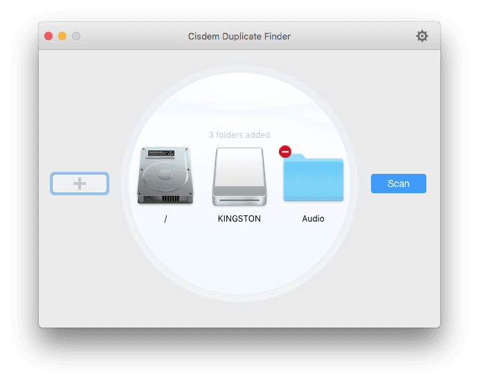 scan Mac folders and drives for duplicate photos