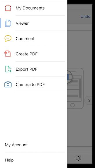 read pdf on iphone with adobe reader