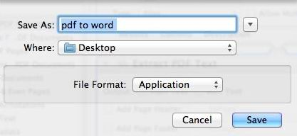 use automator to extract text from pdf mac