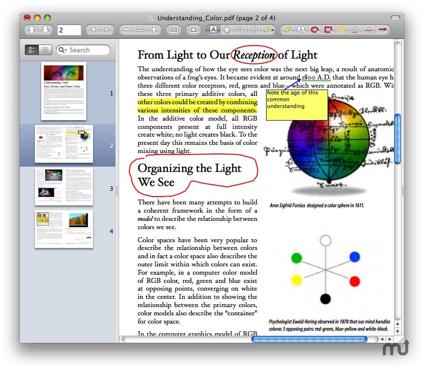 Best Free Mac PDF Editor- Skim