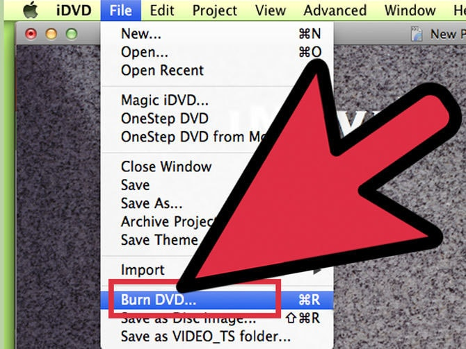 How to Burn MP4 to DVD on Mac via iMovie 7