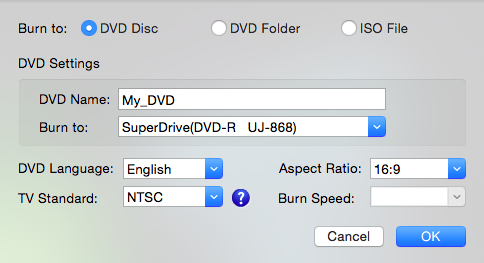 How to Burn MP4 to DVD on Mac with DVD Burner 5